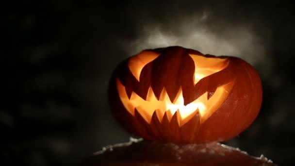 Halloween tök égő. Végtelenített