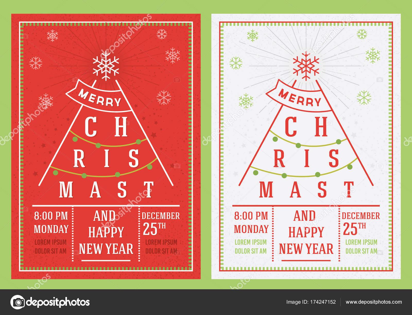 Auguri Di Natale Yahoo.Opuscolo Di Natale E Capodanno Vettoriali Stock C Irfanfirdaus19