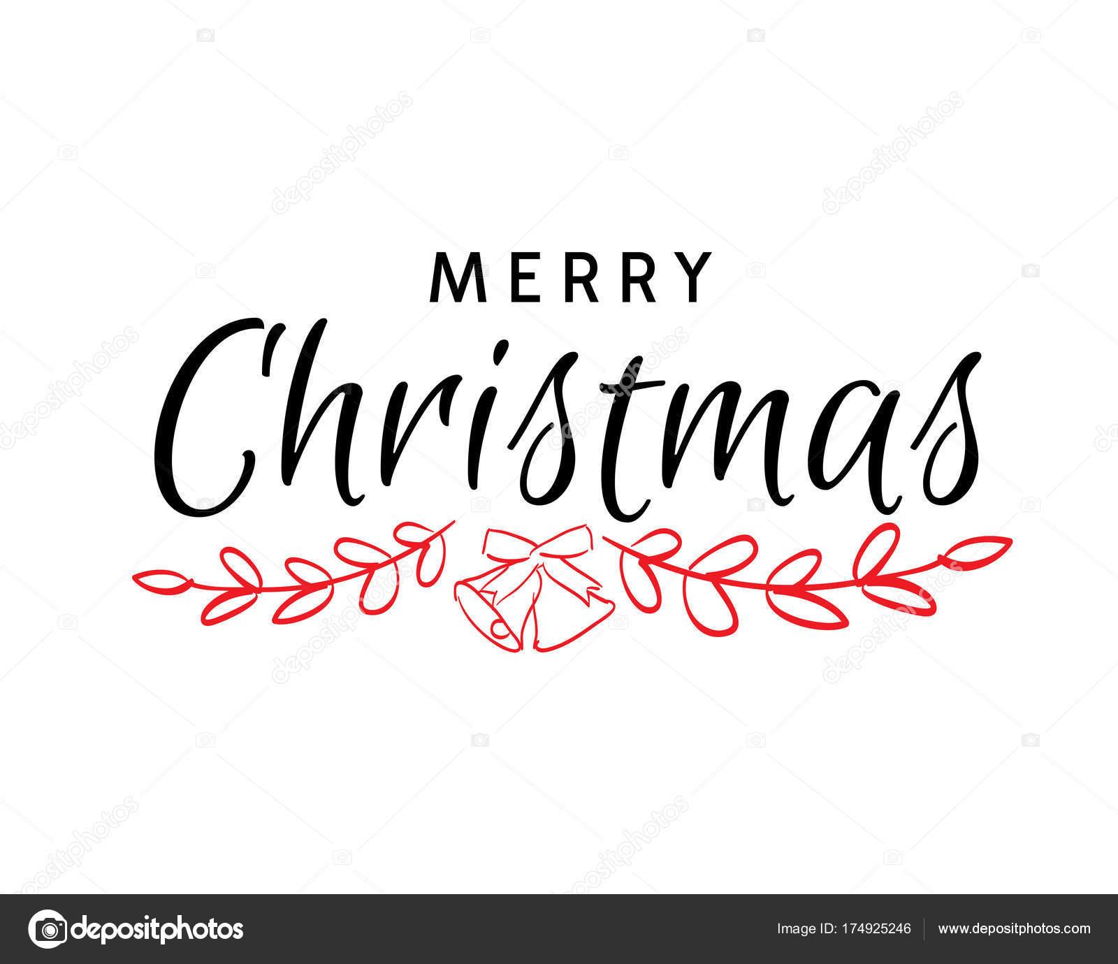 Carte De Noel Yahoo.Texte Dessinés Main Joyeux Noël Calligraphie Noël Pour Carte