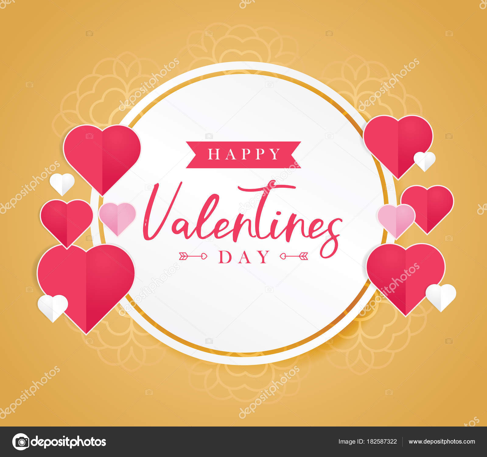 Happy Valentines Day Greeting Card Greeting Cards Valentine Day
