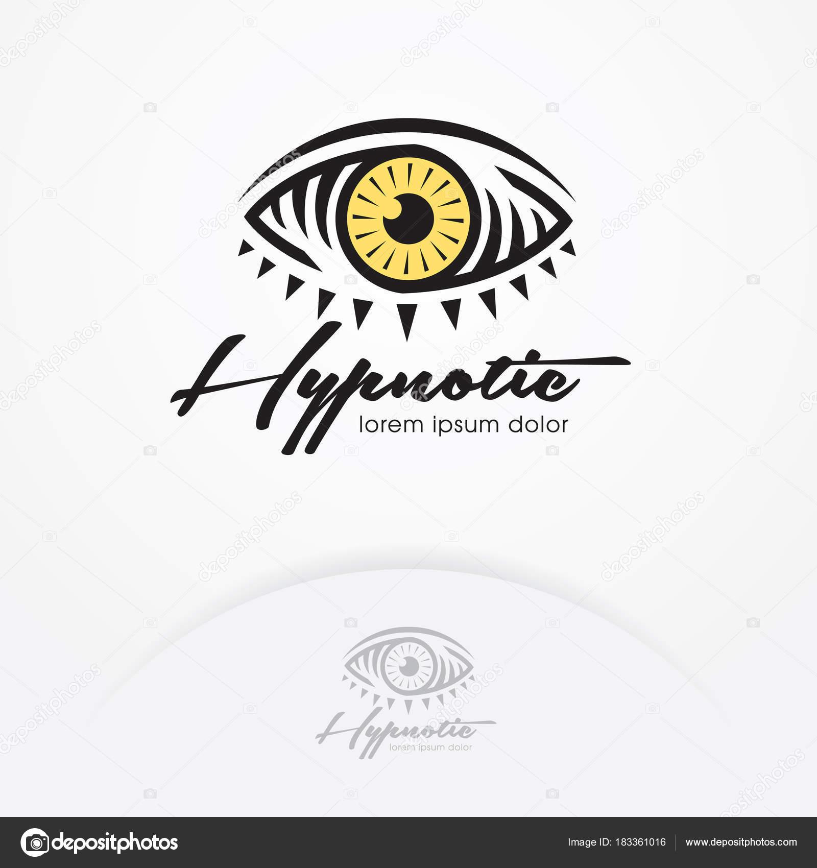 Eye Logo Design Vector Template Eye Symbol Magic Hypnotist Creative