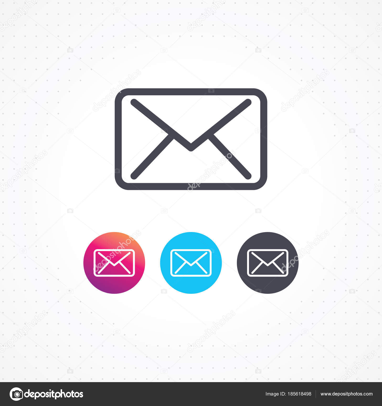 Email icon white background outline email icon business cards email icon white background outline email icon business cards websites stock vector colourmoves