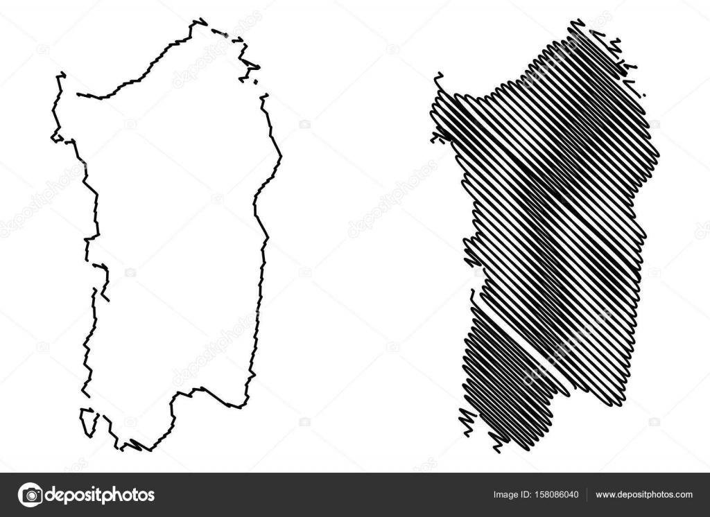 Cartina Sardegna Bianco E Nero.ᐈ Sardegna Sfondo Di Stock Immagini Isola Di Sardegna Scarica Su Depositphotos