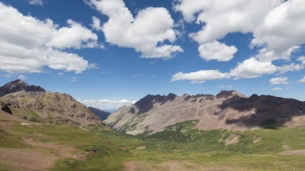Timelapse Landscape in the Rocky Mountains, Maroon-Snowmass Wilderness