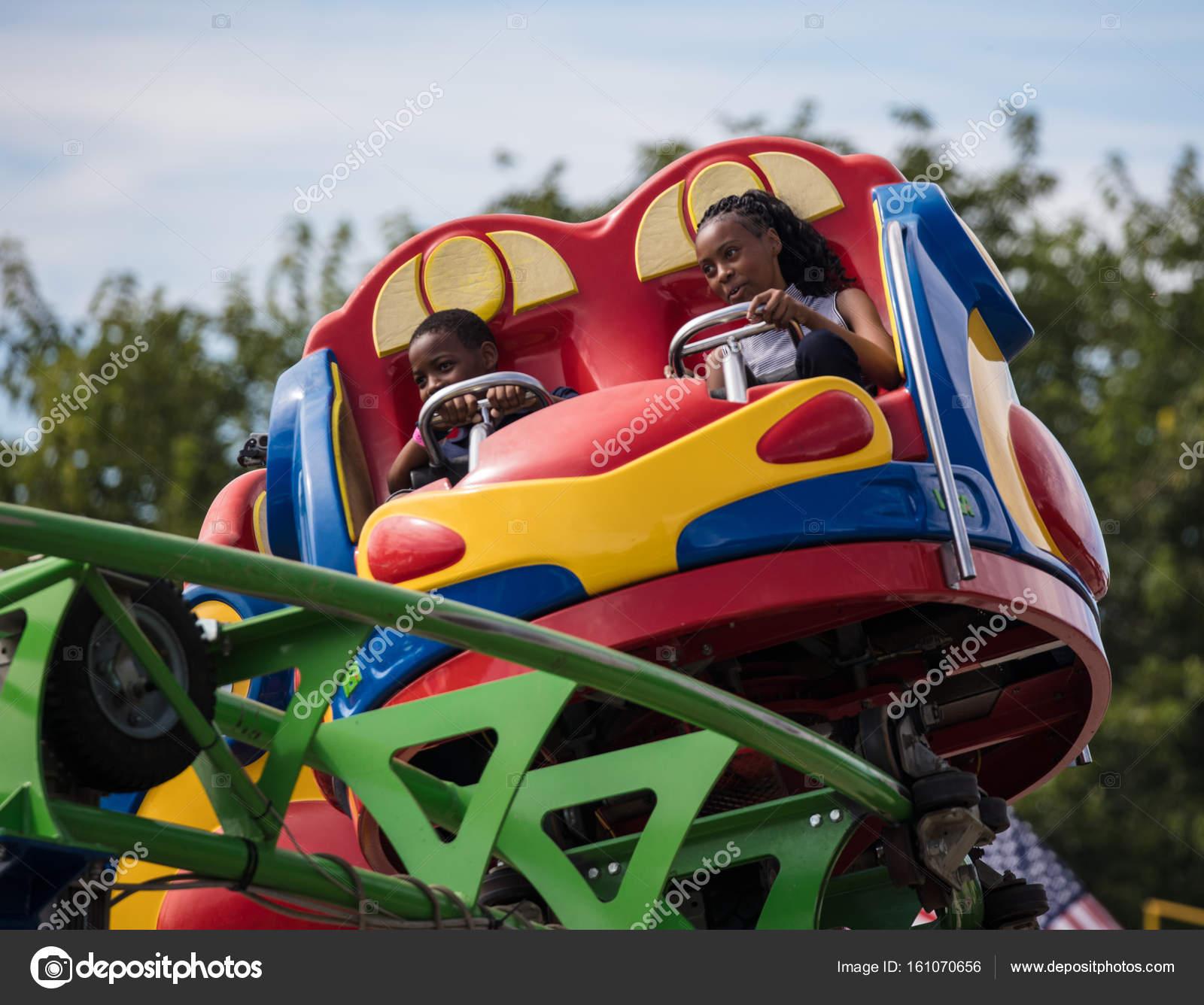 Attendees California State Fair Enjoy Swing Ride Sacramento
