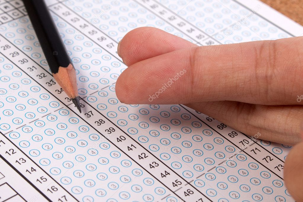 Cheated in the test concepts  Fingers crossed of cheat on