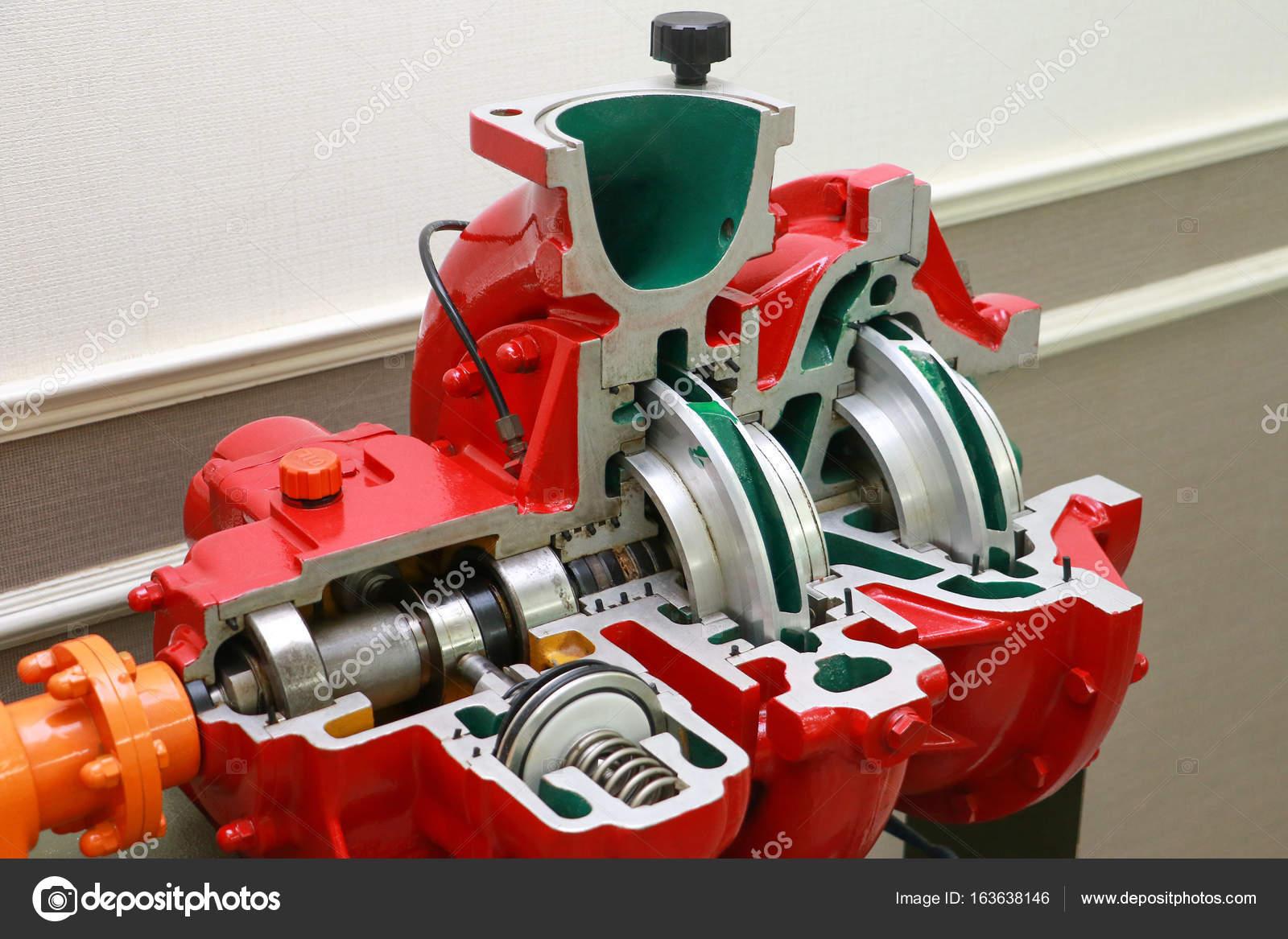 Motor Pumpe Wasser Explosionszeichnung Hydraulik Werkzeugmaschine ...