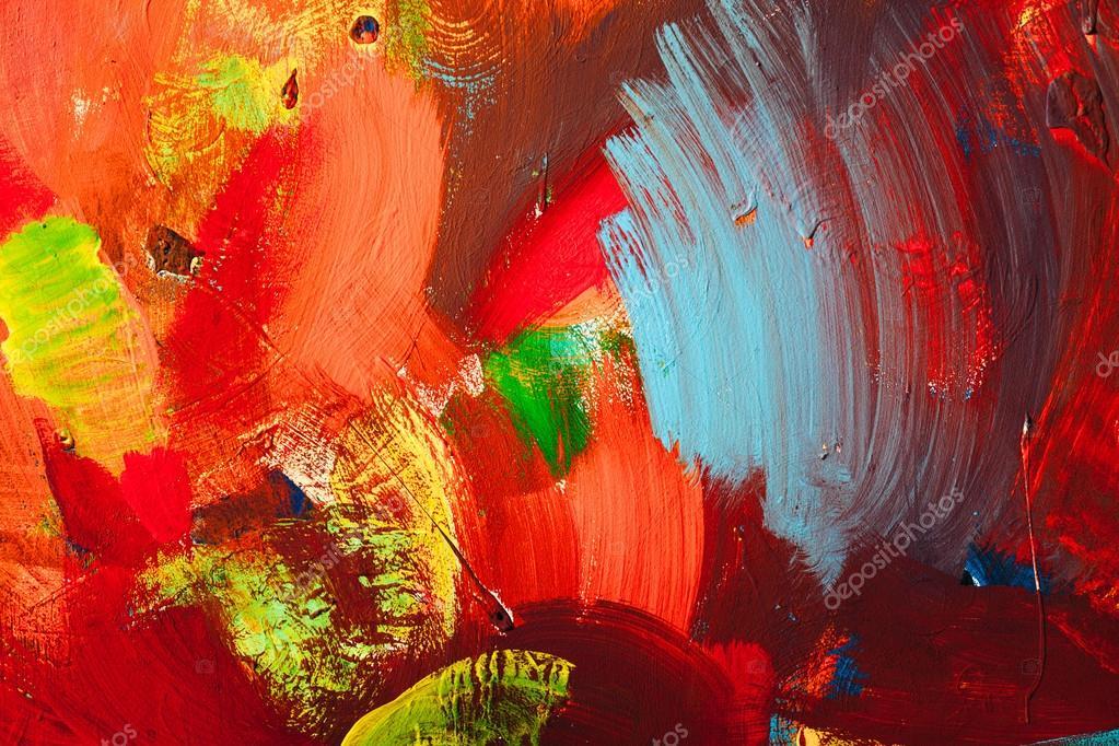Trac s de peinture color e contexte de l art abstrait for Art contemporain abstrait