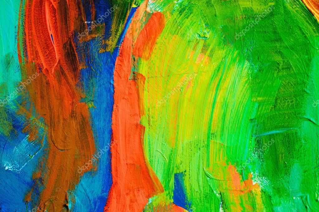 Excepcional Traços de tinta colorida. Fundo de arte abstrata. Detalhe de uma  FV68