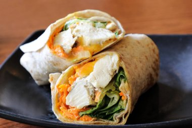 Chicken Pita Bread Wrap