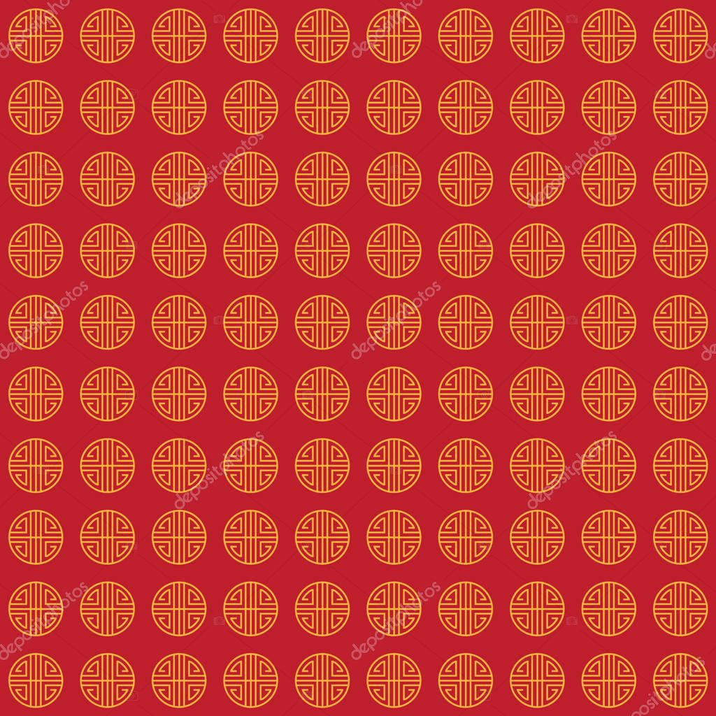 chinese new year holiday pattern chinese ornamental background
