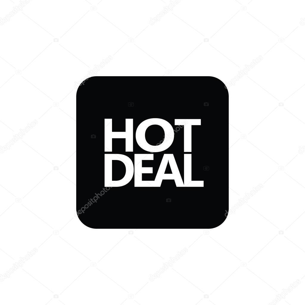 Big Sale Aufkleber. Hot Deal-Banner. Verkauf-Web-Taste, Banner ...