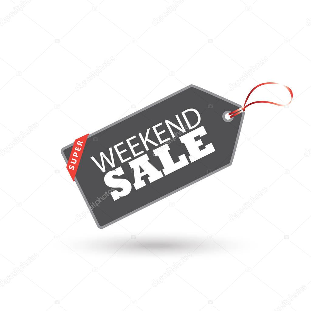 Weekend Discount: Black Friday. Hot Deal Web Banner. Black Friday Sale