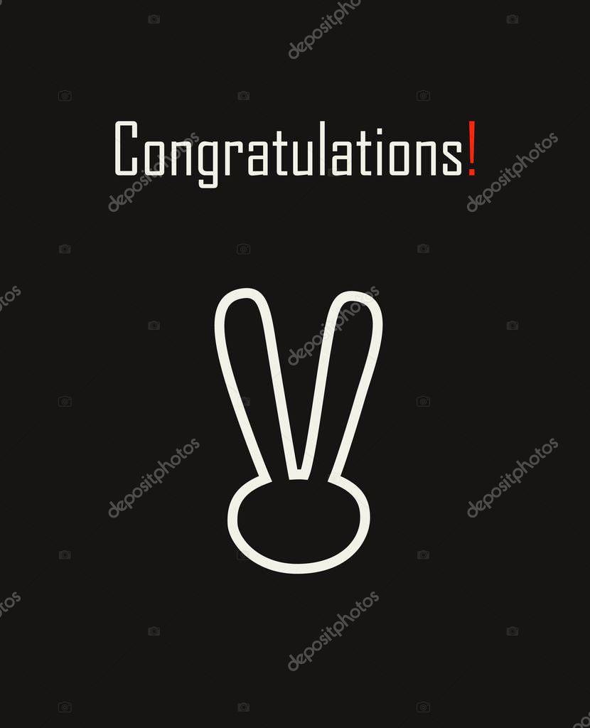 congratulations banner congratulations card congratulations text