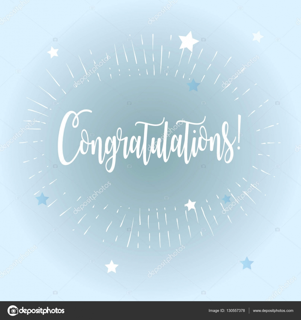 congratulations card christmas vector illustration