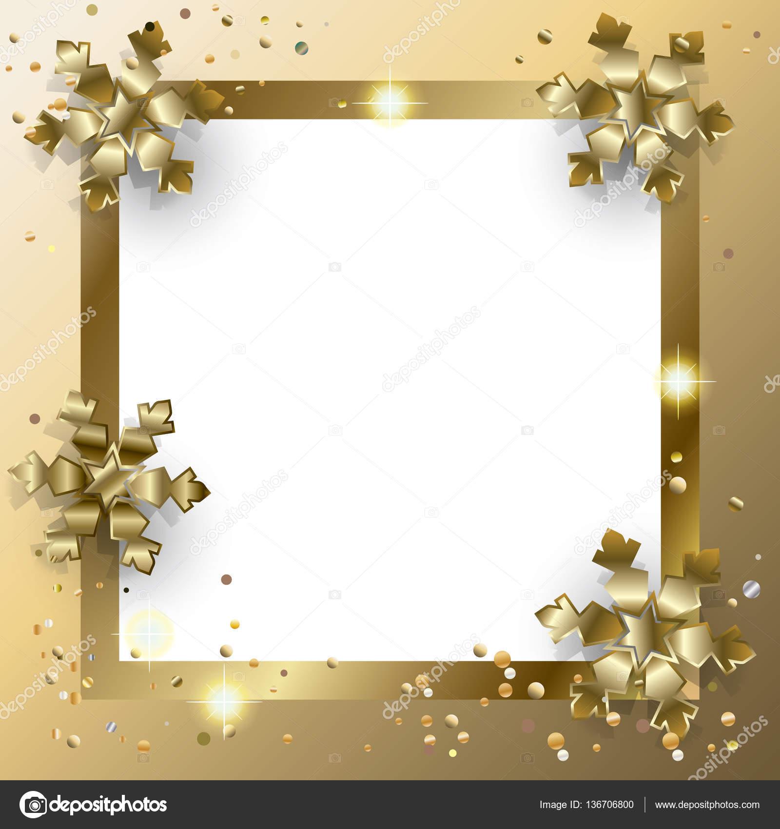 Vector marco de lujo para el fondo de tarjetas de felicitación de ...