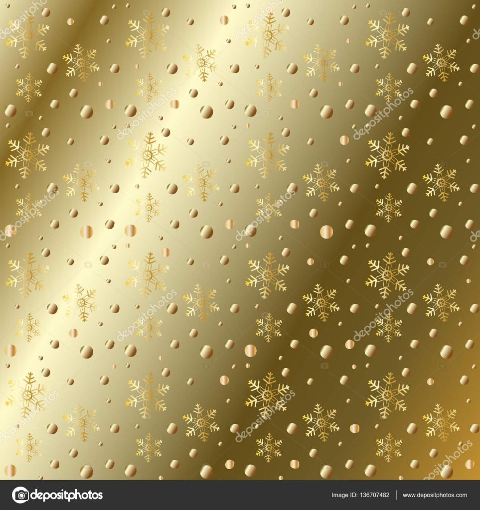 Vector patr n de oro para el fondo de tarjetas de for Adornos navidenos 2017 trackid sp 006