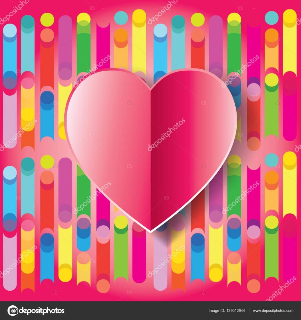 gratulationskort e kort Glad Alla hjärtans dag gratulationskort. Vektorillustration  gratulationskort e kort