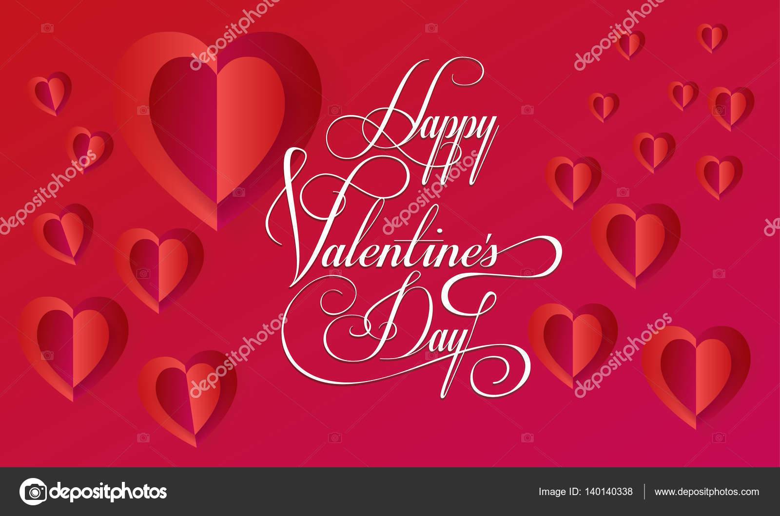 gratulationskort e kort Glad Alla hjärtans dag gratulationskort layout. Vector mall  gratulationskort e kort