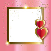 valentines card layout