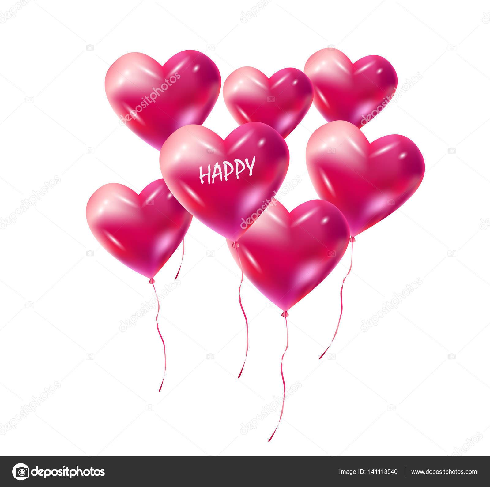 Top Aerostati di figura del cuore. Decorazione di palloni del cuore  LG62