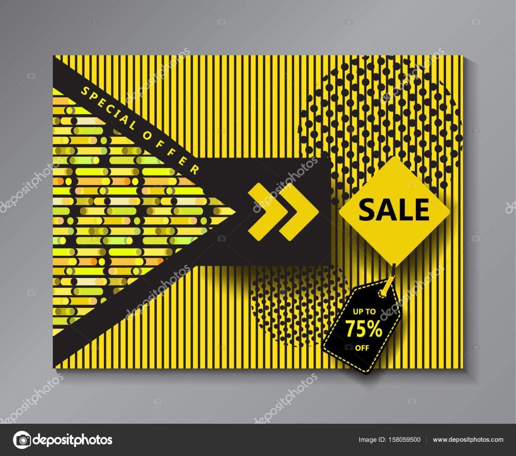 sale banner abstract minimal design background concept design