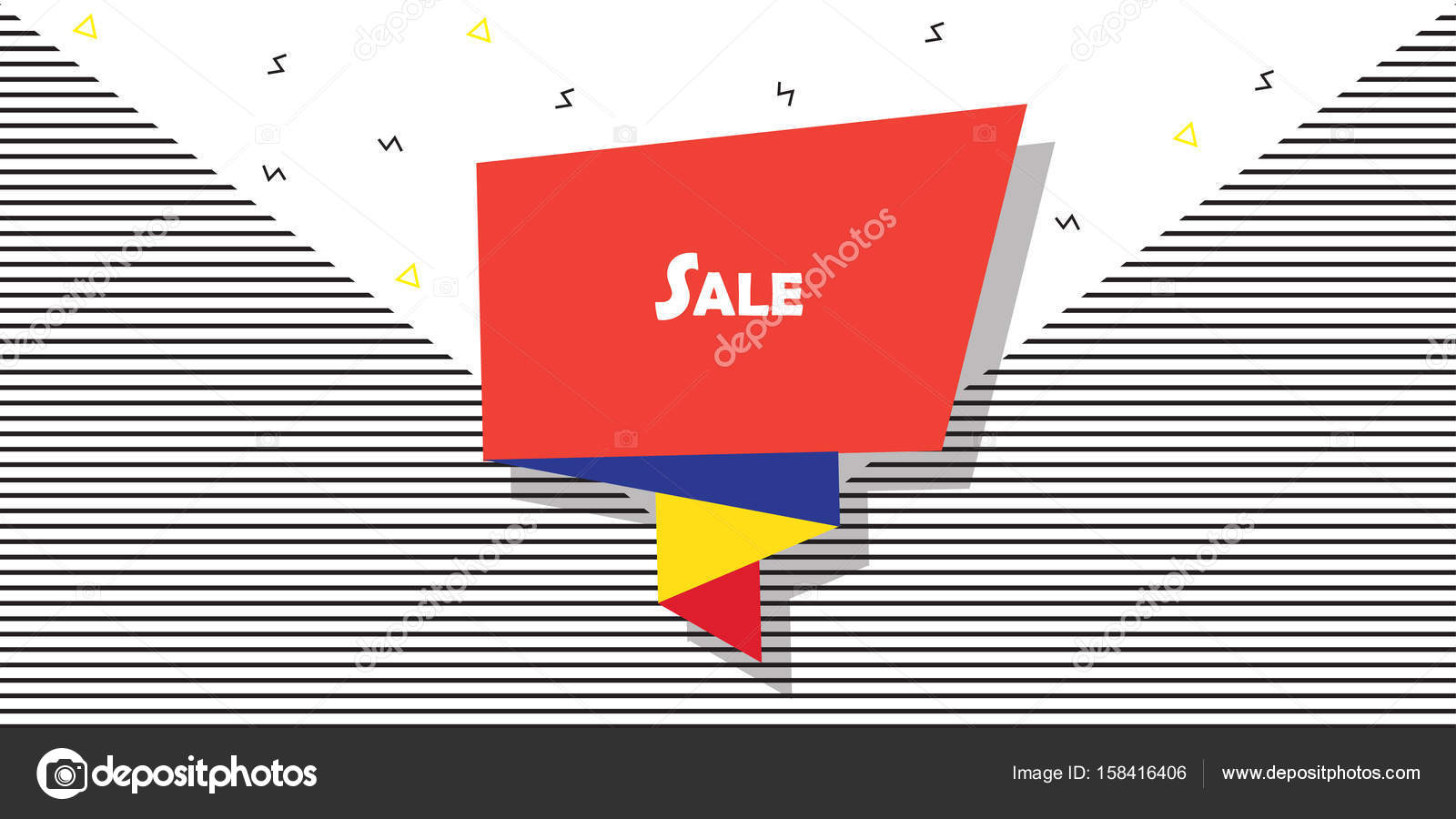 Sale abstract banner modern art price tag ribbon banner business price tag ribbon banner business brochure layout futuristic design business card reheart Gallery