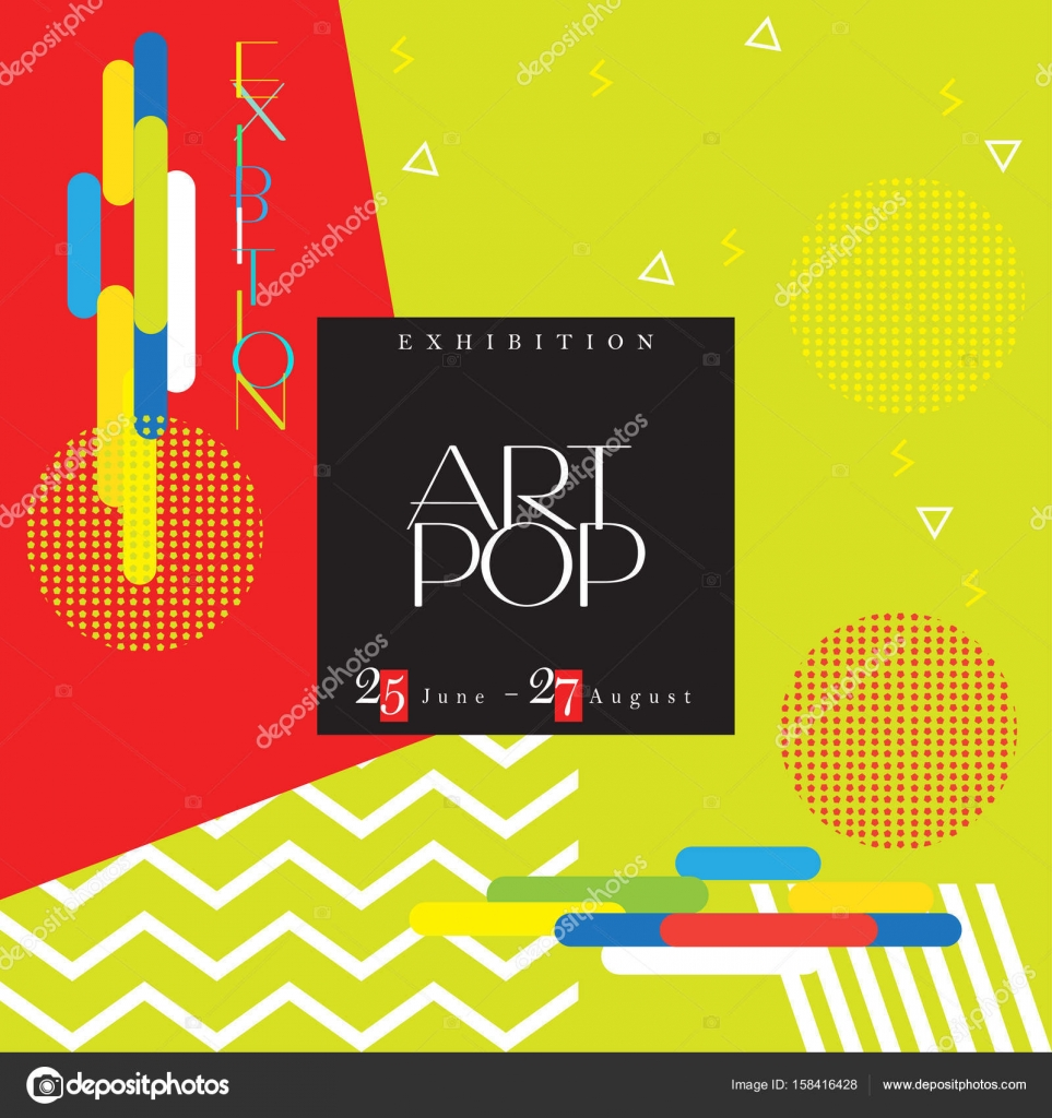 Abstract poster, modern art. Design, business brochure layout, cover ...
