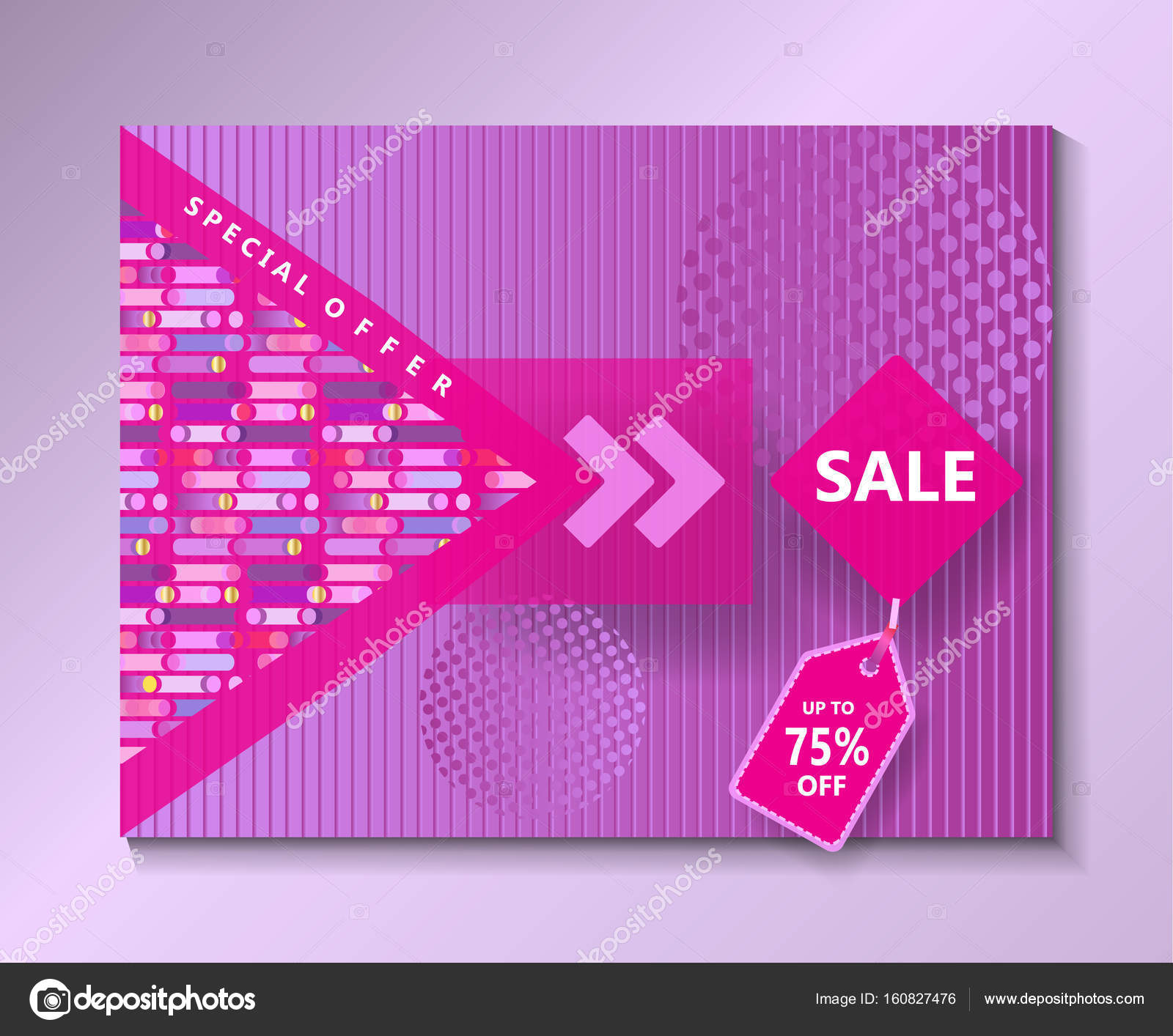 Modern Art Design For Gallery Exhibition Catalog Cover Business Brochure Poster Banner Card Envelope Template Vector Geometric Dynamic Shapes
