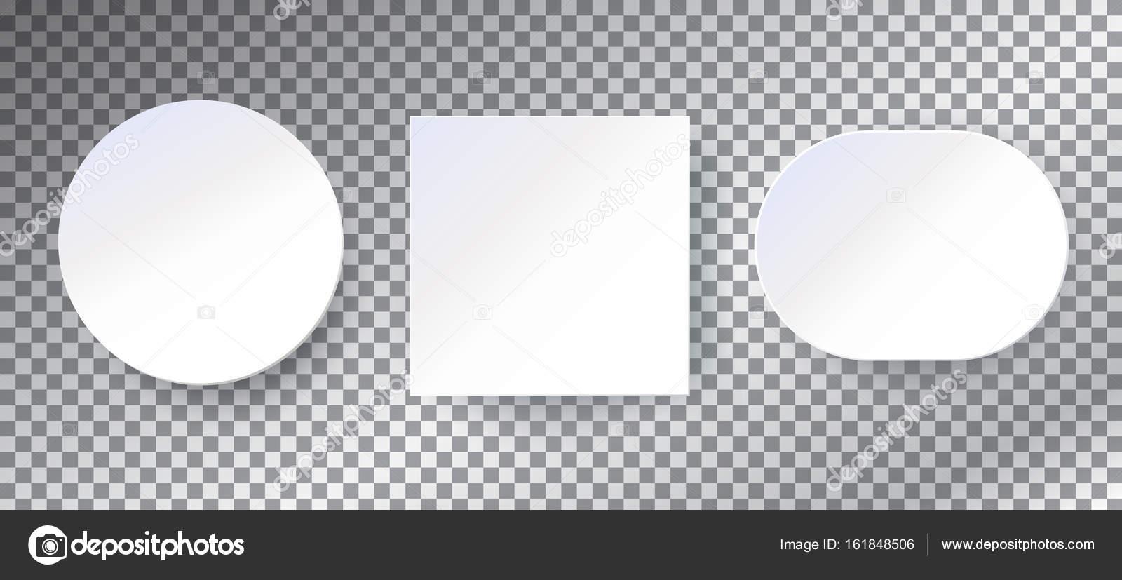 Fotogramas de papel conjunto. Marcos blanco de papel 3d sobre fondo ...