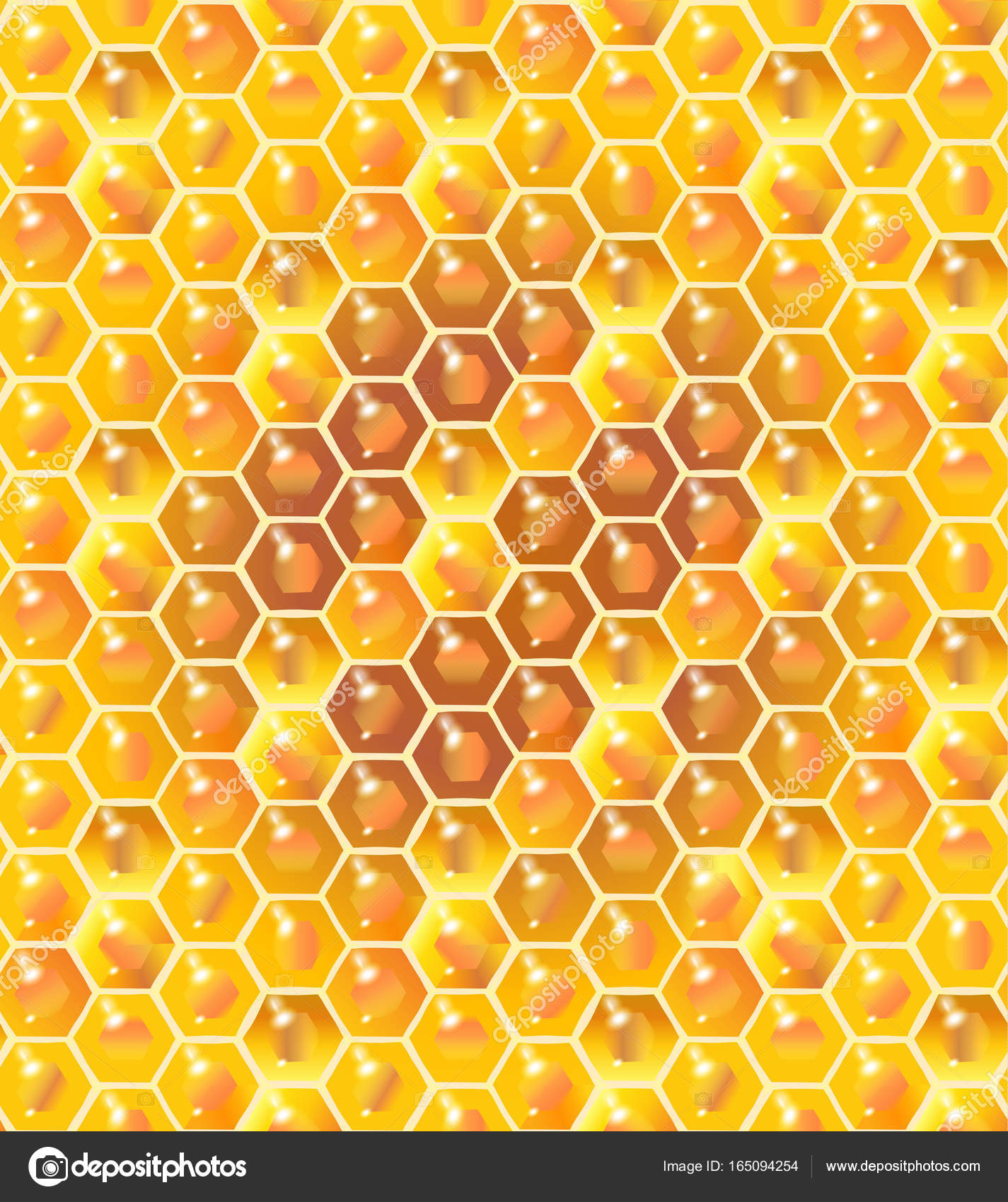 Honey seamless pattern realistic 3d honeycomb background tasty realistic 3d honeycomb background tasty sweet dessert healthy food voltagebd Image collections