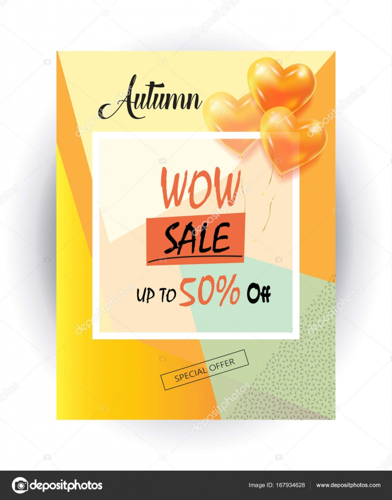 wow gift card wow sale web banner autumn sale discount gift card fall 2270