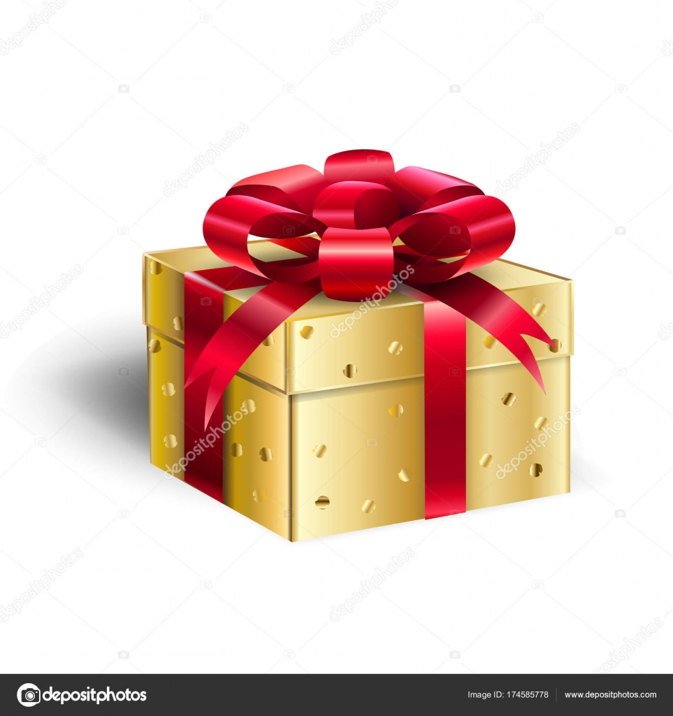 Gift Box for Christmas and New Year Winter Holiday