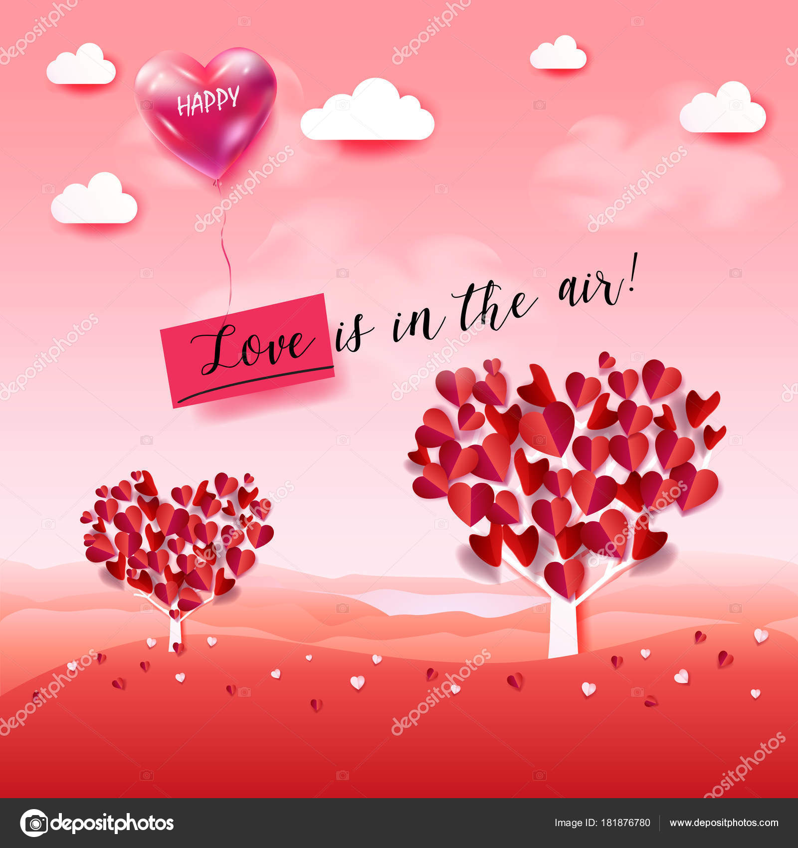 Love air happy valentines day greeting poster valentines day mother happy valentines day greeting poster valentines day mothers day womens day holiday birthday anniversary wedding day romantic love symbols red m4hsunfo