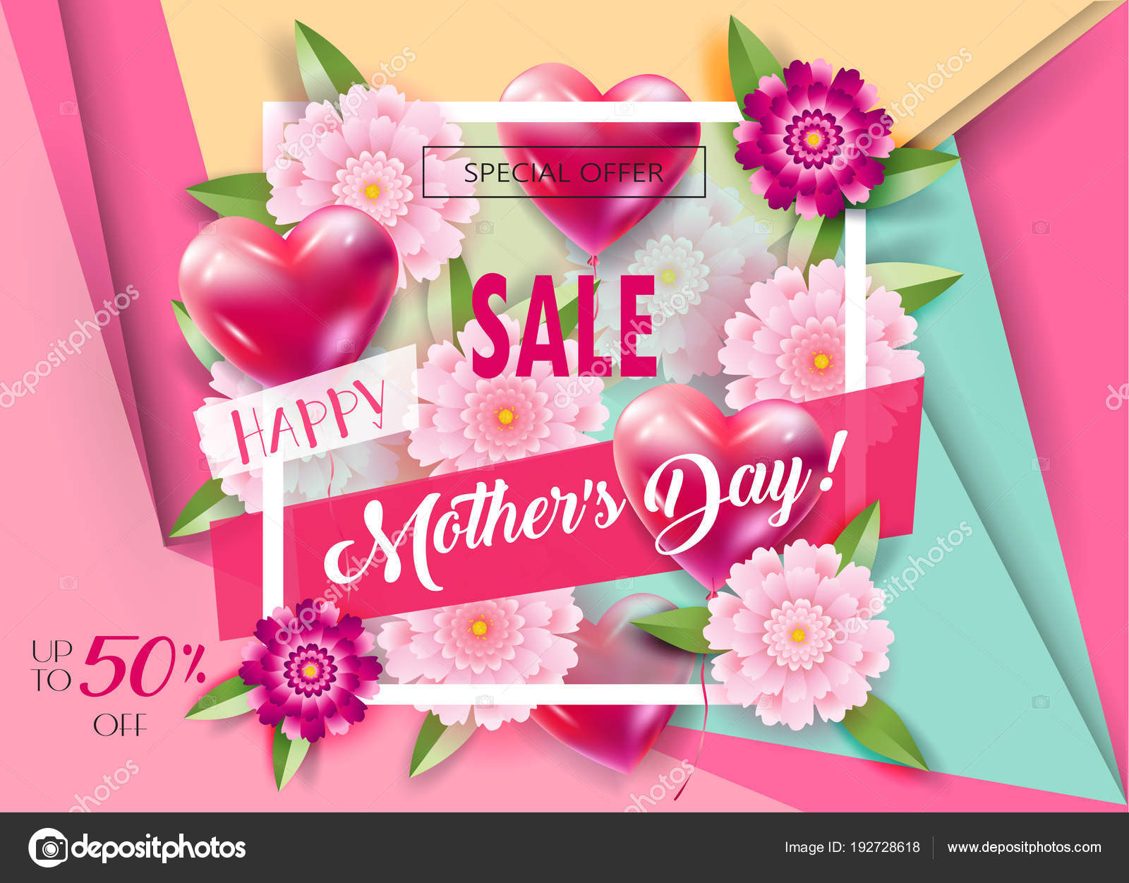 Sale Banners Set Mother Day Gift Cards Tags Special Offer Stock Vector C Sofiartmedia Gmail Com 192728618