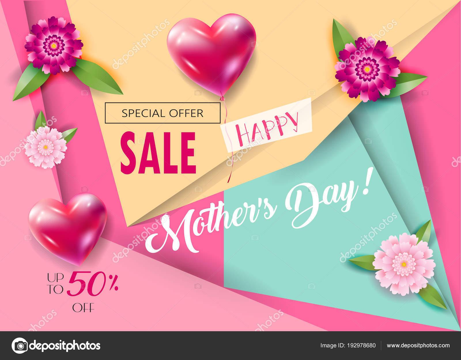 Fotos Invitacion Dia De Las Madres Original Vector Banner