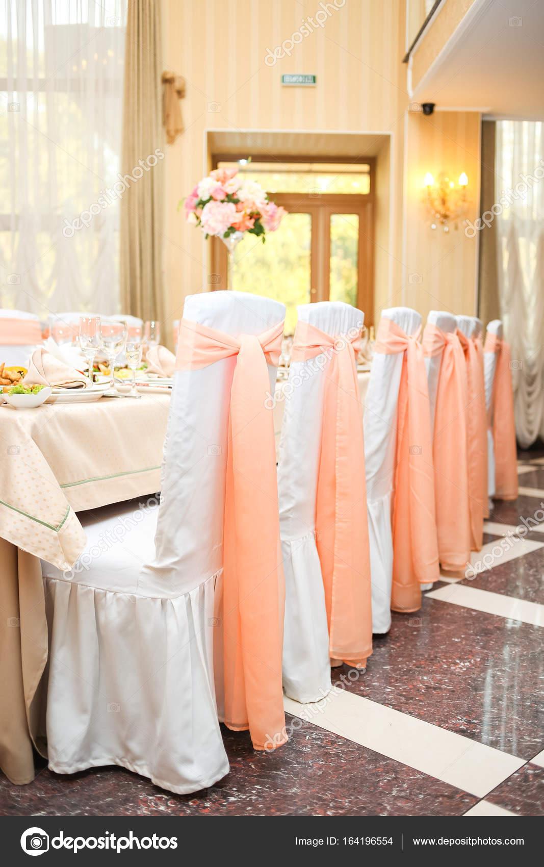 Peach Color Decor Wedding Decoration In Peach Color