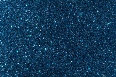 Navy blue glitter texture