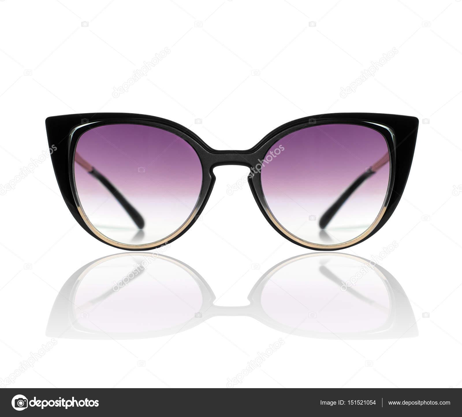4c612e1bea Κομψά Γυναικεία γυαλιά ηλίου που απομονώνονται σε λευκό φόντο– εικόνα  αρχείου