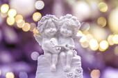den milovníků malekuy sochy andělů ze sádry