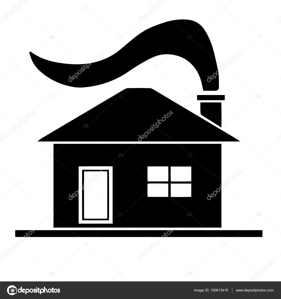 black house silhouette vector u2014 stock vector photo stella 150613418