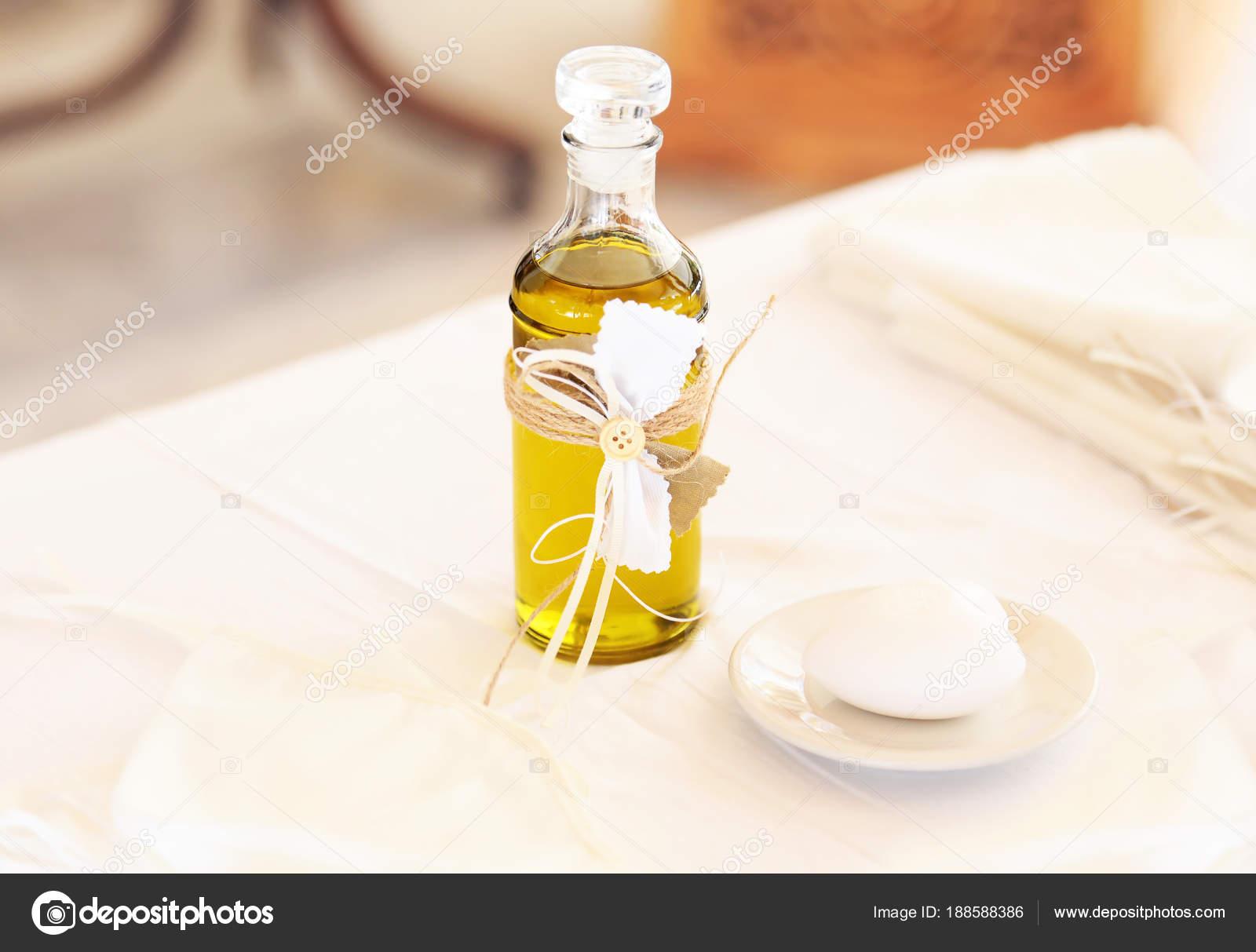 Christening Decoration Baptism Oil Candles Soap Greek
