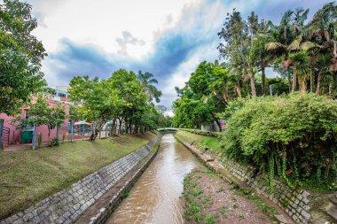 Pocos de Caldas, Minas Gerais/Brazil. Small river