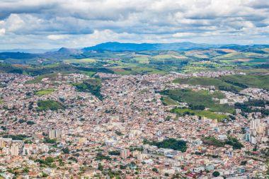 Pocos de Caldas, Minas Gerias/Brazil. City view
