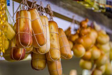 Pocos de Caldas, Minas Gerias/Brazil. Handicraft cheese