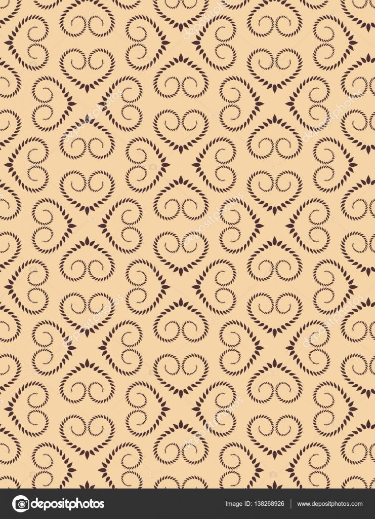 Patrón de corazón transparente. Textura vintage. Gire el adorno de ...