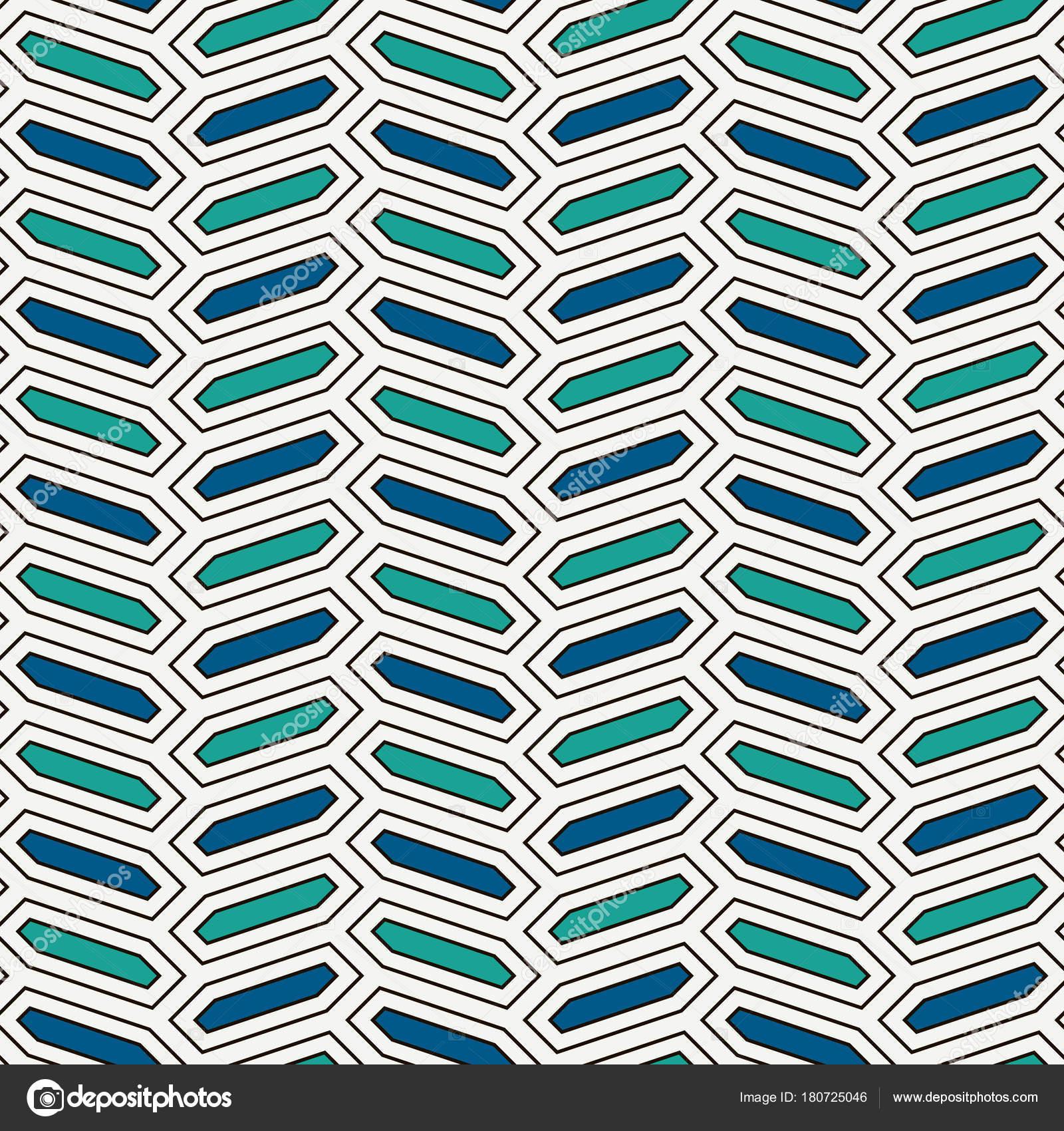 Patrón transparente con adorno trenzado vertical. Octógonos azulejo ...