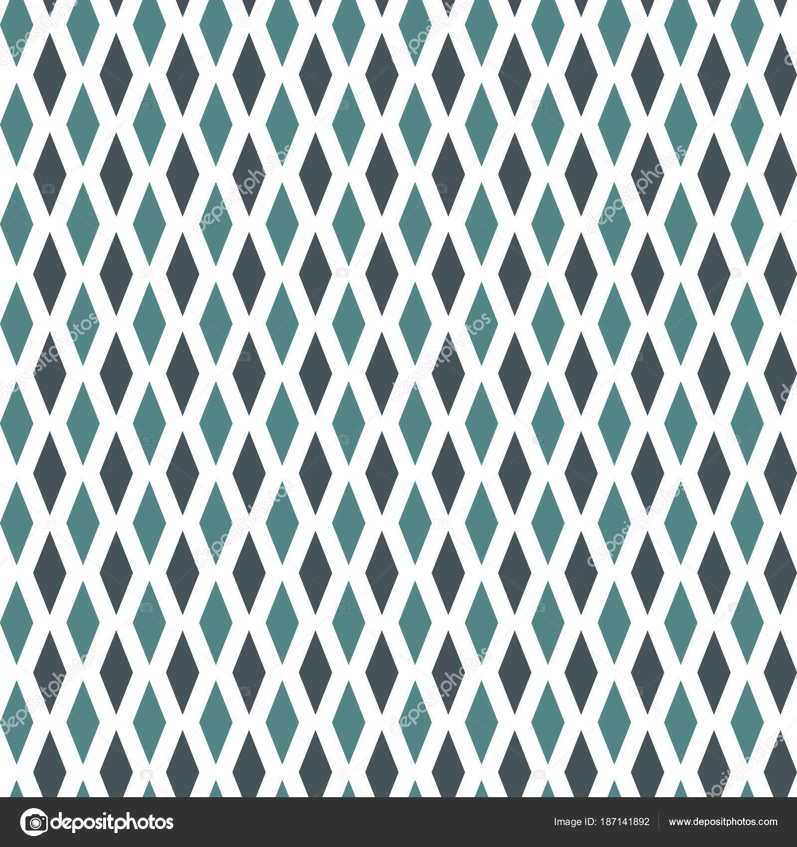 Seamless Pattern With Simple Ornament Argyle Wallpaper Rhombuses And Lozenges Motif Repeated Geometric