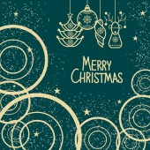 vektorové vánoční přání