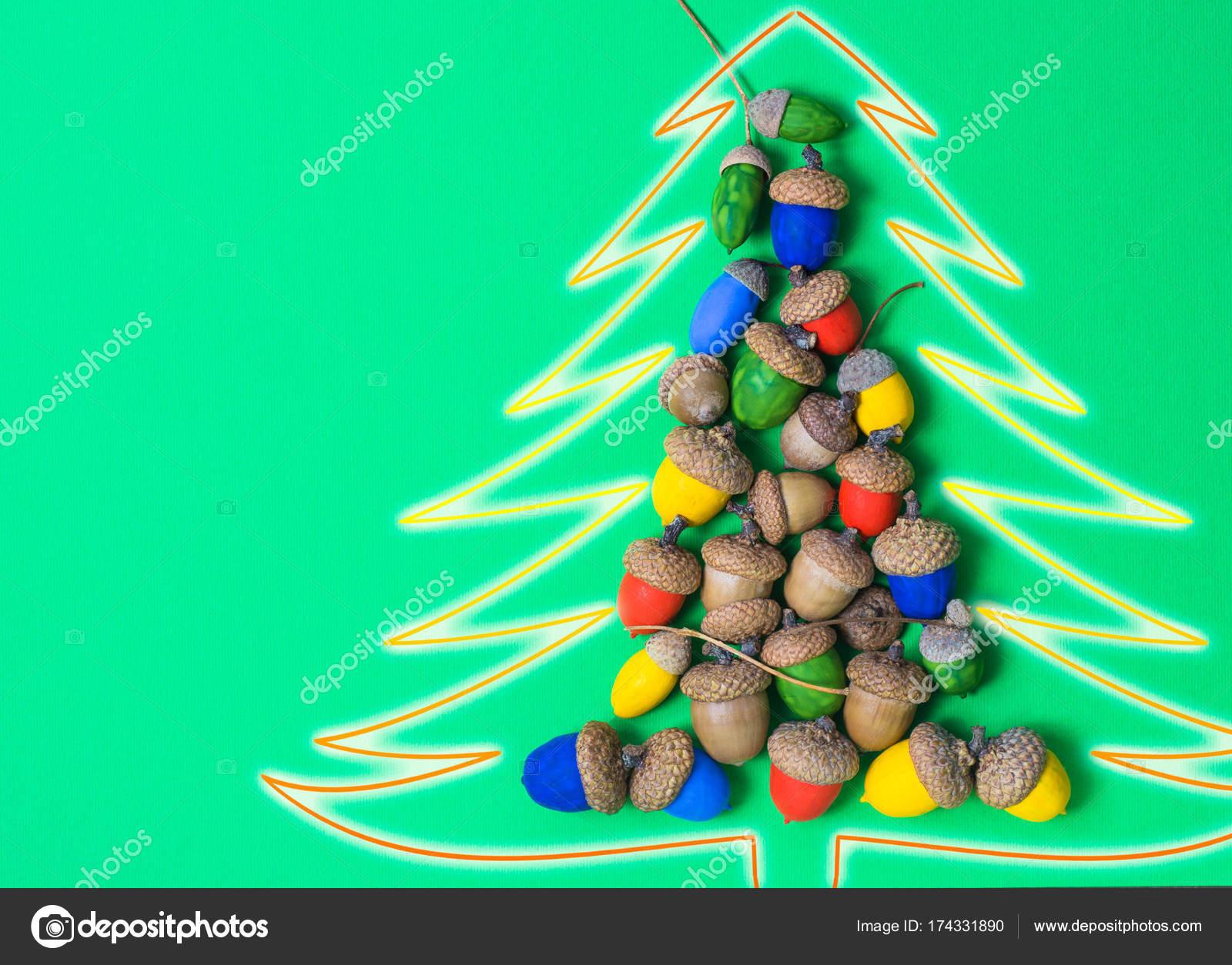 Buon Natale Originale.Albero Di Natale Originale Dalla Ghirlanda Di Artigianato Fatto A